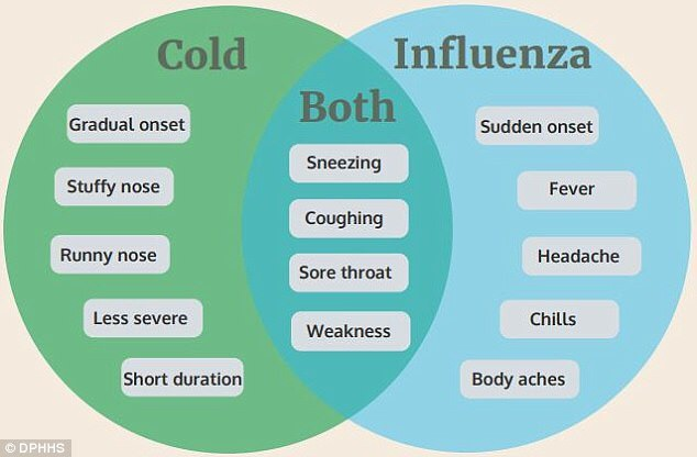 Flu vs Cold